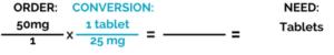Dimensional Analysis Blog Set Up Step 3