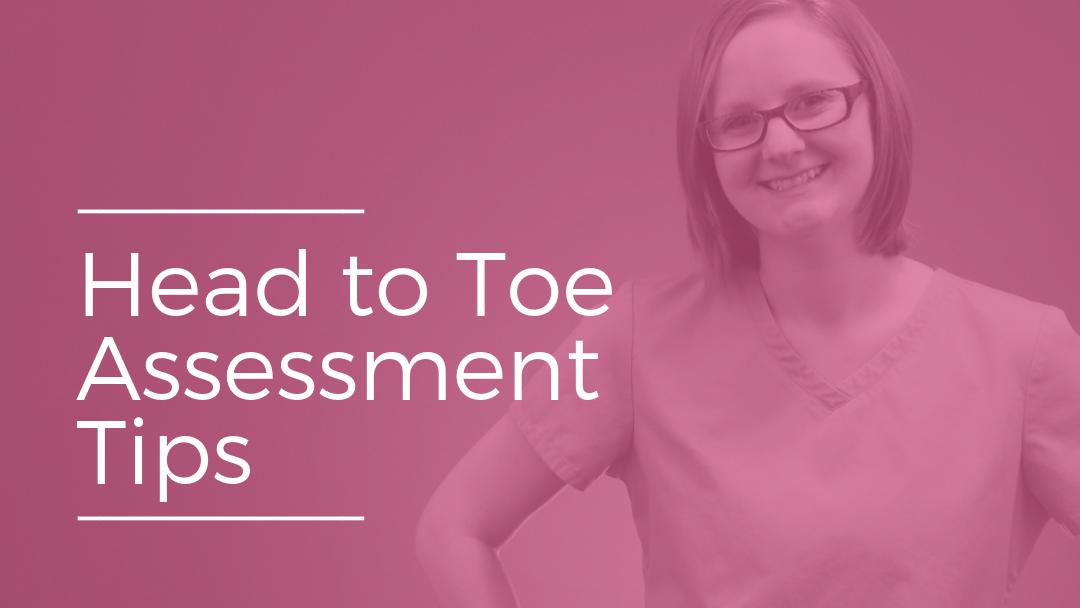 head to toe nursing assessment pdf